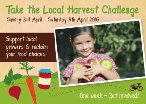 Local harvest challenge flyer