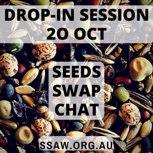 Drop in session 20 October - seed, swap, chat