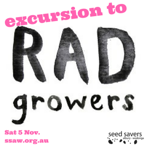 Join us at RAD Growers, 5th Nov.