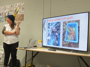 Thea's terrific talk and photos
