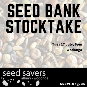 Seed bank stocktake